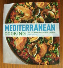 NEW Mediterranean Cooking by Lynne Gigliotti & Culinary Institute HC 1st edition