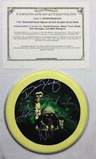 DISTURBED BAND SIGNED  AUTOGRAPHED 10 INCH GRAPHIC DRUM HEAD W/ COA