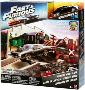 Mattel Hot Wheels Fast & Furious Car Collection 1:55 Cars & Play Sets