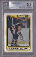 MARIO LEMIEUX 1990-91 TOPPS #175 PENGUINS BGS 8.5 GRADED