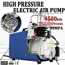 30MPA 4500PSI High Pressure Air Compressor PCP Airgun Scuba Air Pump YONG HENG