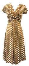 Vintage-Kleider aus Polyester für Damen in Größe 46