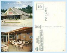 Hays House Restaurant Interior Gatlinburg Tennessee  Postcard - Architecture