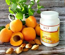 100% Organic Vitamin B17 500mg/100 Vegetarian Capsule Apricot Kernel Seed Ext