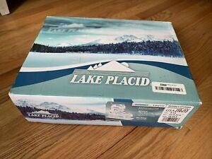 """Lake Placid """"Summit"""" adjustable ice skates; youth sizes J10-J13 With Box"""