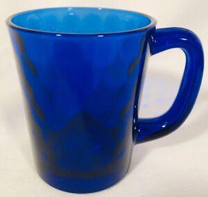 Coffee Mug - Cobalt Blue Glass - Mosser USA
