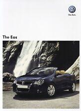 VW Volkswagen EOS 2.0 TSI Cabriolet Cabrio Prospekt Brochure ASIA Asien 3