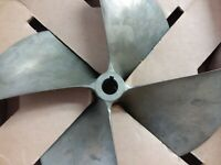 "Acme Marine Group 13.5 x 17.5 VR 4 blade ski/wake prop with a 1.1/8"" shaft bore."