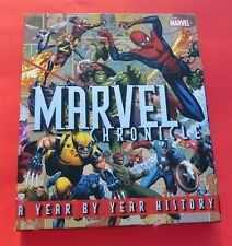 Marvel Chronicle Year By Year History NM W/Case 2008 Wolverine Spider-Man Dr Ock