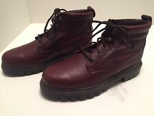 Sebago Drysides Mens Brown Pebbled Leather Waterproof Lined Chukka Boots Size 8M