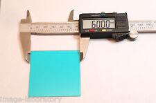 60mm x60 x1mm Schott BG-39 same Hoya CM-500 IR Cut color correction filter back
