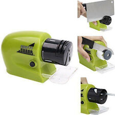 NEW Pro Electric Knife Sharpener kitchen Knives Blades Drivers safety Sharp Tool