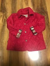 Burberry Girls Jacket Age 4 Years Old (104)