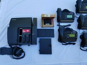 Inter-Tel 3000 Phone System (Product Code 618.5000) System Expan. & Phones (10)