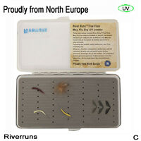 Riverruns Realistic Flies Mayfly Dry Flies UV Flies Part Combo With A Fly Box