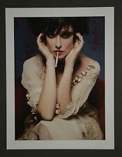 Karl Lagerfeld Original Limited Edition Photo 32x42cm Paul Poiret Dress 1910s