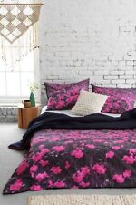 URBAN OUTFITTERS PLUM & BOW FLORAL MOUNTAIN DUVET COVER TWIN XL