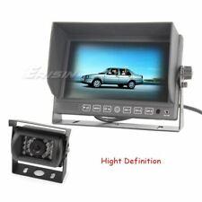 Erisin 7 inch HD Monitor 12V 24V Reversing CCD Camera for Truck/Caravan ES313AUD