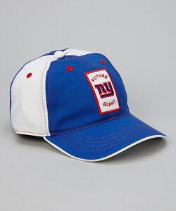 New York Giants Blue & White Toddler Adjustable Baseball Hat NWT