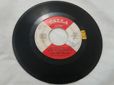 Little Jerry Williams 45 Just What Do You Plan to Do About It/Baby Northern Soul