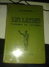 GEORGIN. BERTHAUT. Les latins. Classes de lettres. Hatier. 1959.