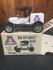 ERTL 1918 Runabout Bank NOS