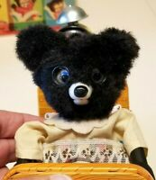 1950s Marx Line-Mar SLEEPING BABY BEAR Battery Op Tin Toy in Box w/Instructions