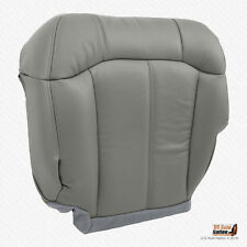 2001 2002 GMC Sierra 2500 2500HD Driver Bottom VINYL Replacement Seat Cover GRAY