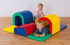 Soft Play Toddler Tunnels Trail. Select colour.