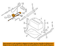 BMW OEM 04-07 525i-Battery Cable 61126929324
