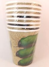 DINO BLAST PARTY PAPER CUPS X 8 PACK(256ml) DINOSAUR PARTY