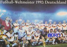 Fußball Weltmeisterschaft + Weltmeister Postkarten Serie + 1990 + DEUTSCHLAND +