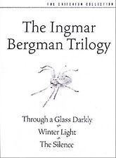 Ingmar Bergman Trilogy Criterion (DVD, 2003, 3-Disc Set)