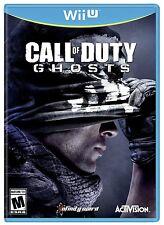 NEW Call of Duty COD Ghosts  (Nintendo Wii U, 2013) NTSC