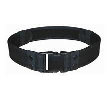 "NEW SWAT Police Security Tactical Combat Gear Black Utility Nylon Duty Belt 2"""