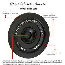 Skink Pinhole Pancake Objektiv Retro Starter Kit mFT Lumix M4/3 GX8 Zubehörpaket