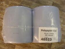 Katrin Putztuchrolle blau 3-lagig 500 Blatt Pack mit Zwei Rollen Art. 485236