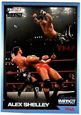 TNA Alex Shelley 41 2011 Sig Impact Silver Parallel /50