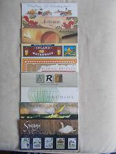 1993 Commemorative Presentation Packs Complete - All 9 Packs (PO Nos 234-242)