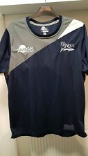 Sale Sharks Samurai Navy blue stretch style Training Shirt Vest & Shorts Size XL