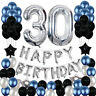 Happy Birthday Ballons Party Decor Number For Age 16/18/21/25/30/40/50/60/70