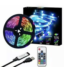 Tiras LED WiFi Luces Decoracion Wireless RGB Para Bar /Habitacion Kit Sala 6.6ft