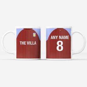Personalised Aston Villa Football Mug Birthday Anniversary Christmas Gift Item