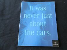 2000 Mercedes Brochure AMG ML55 E55 SL500 SL600 SLR SL S500 S430 SLK230 E430 CL