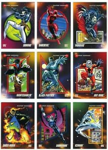1992 Impel Marvel Universe Series 3 **YOU CHOOSE** Trading Comic Super Cards