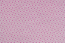Michael Miller Fabric Pink Daisy Flowers By The Yard BTY Cotton Flowers C-2507