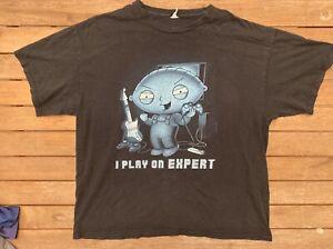 Stewie Griffin Mens Size Xl Tshirt 2009 Tee