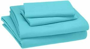 Basics Kid's Sheet Set - Soft Easy-Wash Lightweight Microfiber - Queen Bright...
