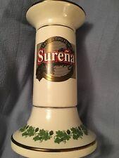 Ceramic Porcelain Beer Tower Surena Cerveza Tipo Pilsen Cobecasa 12� Tall