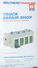 Walthers HO #931-912 Truck Repair Shop -- Kit  (Building Kit Plastic)